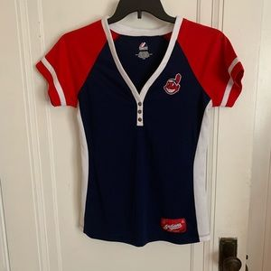 Cleveland Indians Shirt Sleeved Top